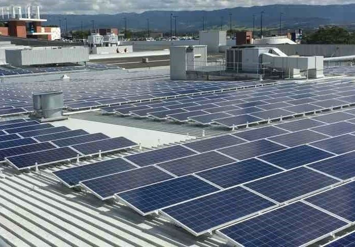 How do solar systems help industries