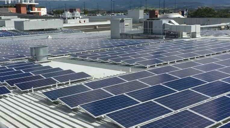 How do solar systems help industries