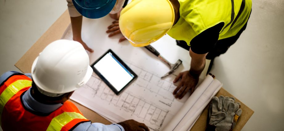 Why are engineers needed for planning the construction over a plot